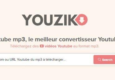 Youzik le meilleur des convertisseurs de vidéo Youtube en 2021
